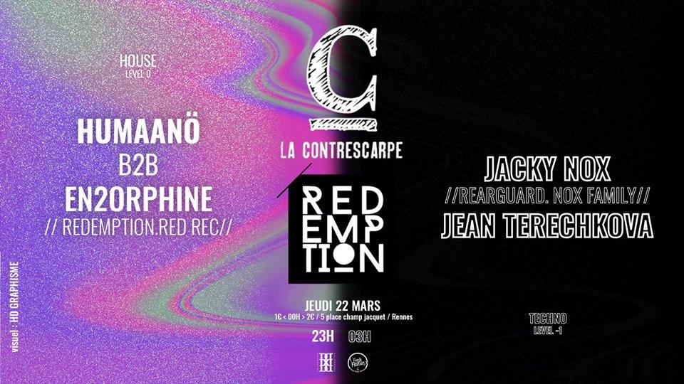 22/03 x Redemption #6 W/ Jacky Nox & Jean Terechkova