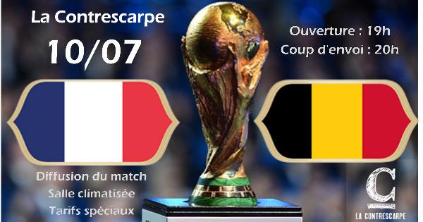 Demi finale Coupe du Monde 2018 / France – Belgique