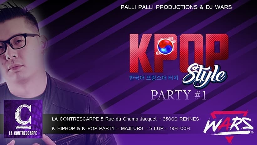 K-POP STYLE PARTY